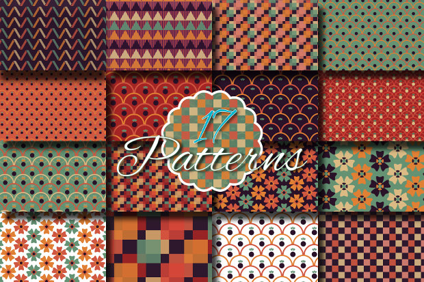 17 Different Funky Patterns