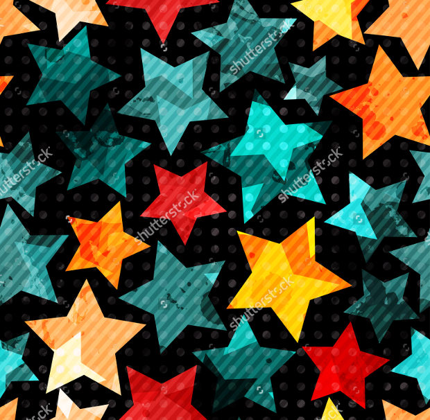 Abstract Star Patterns