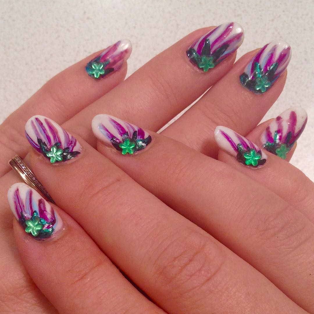Lovely Nail Design.