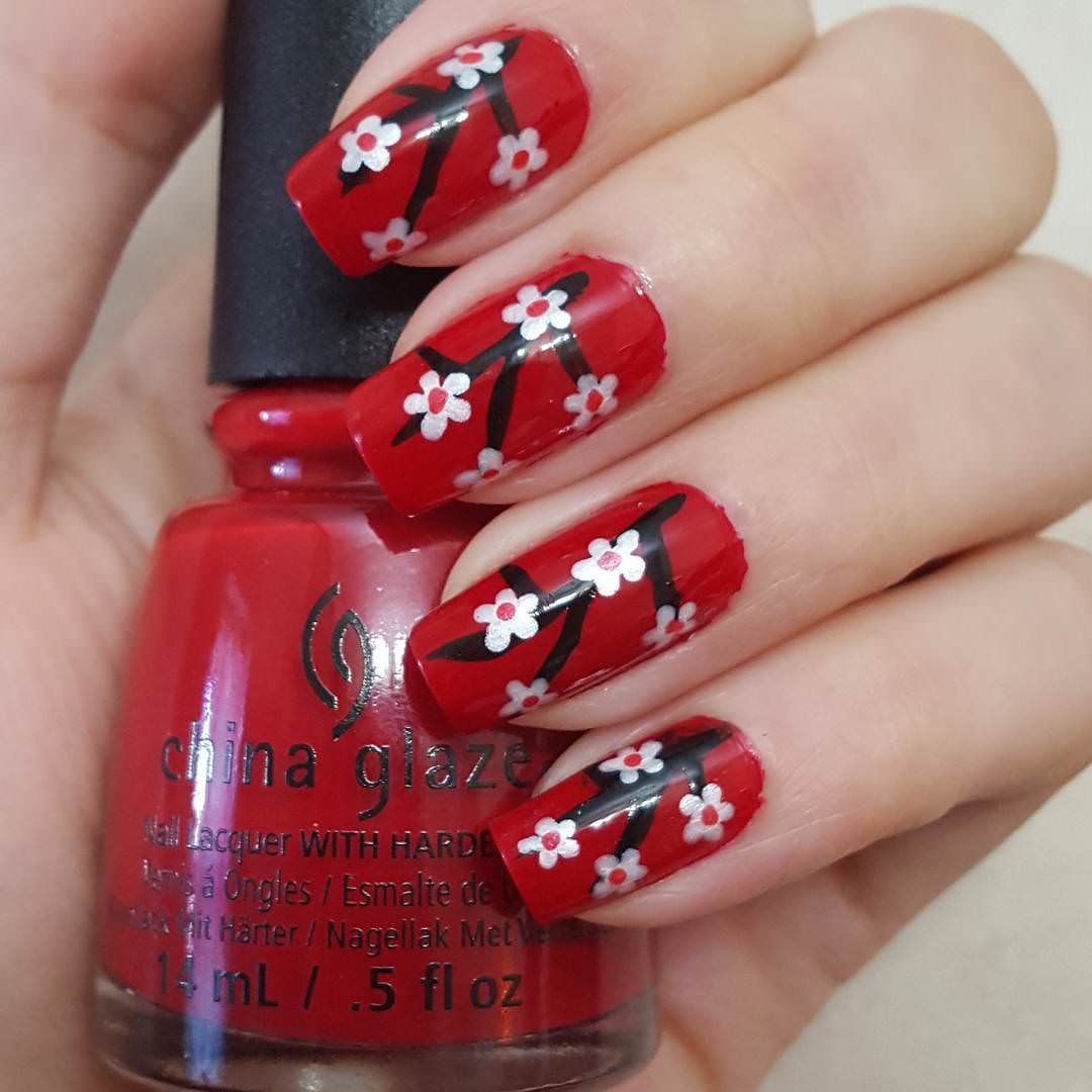 19+ Flower Nail Art Designs, Ideas | Design Trends - Premium PSD ...