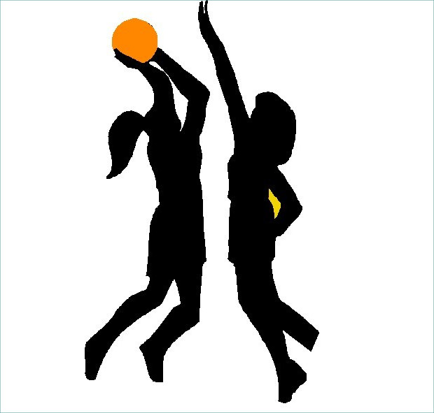 Dark Basketball Clipart