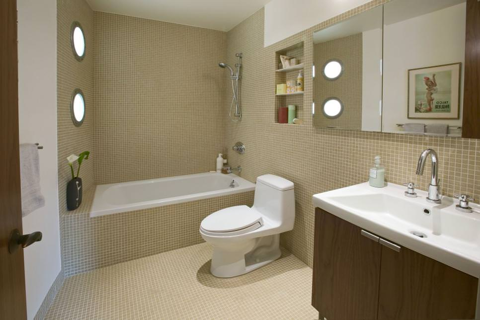 23 brown bathroom designs decorating ideas design for Bathroom ideas tan