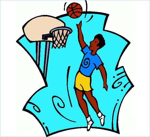 Amazing Shooting Basketball Clipart