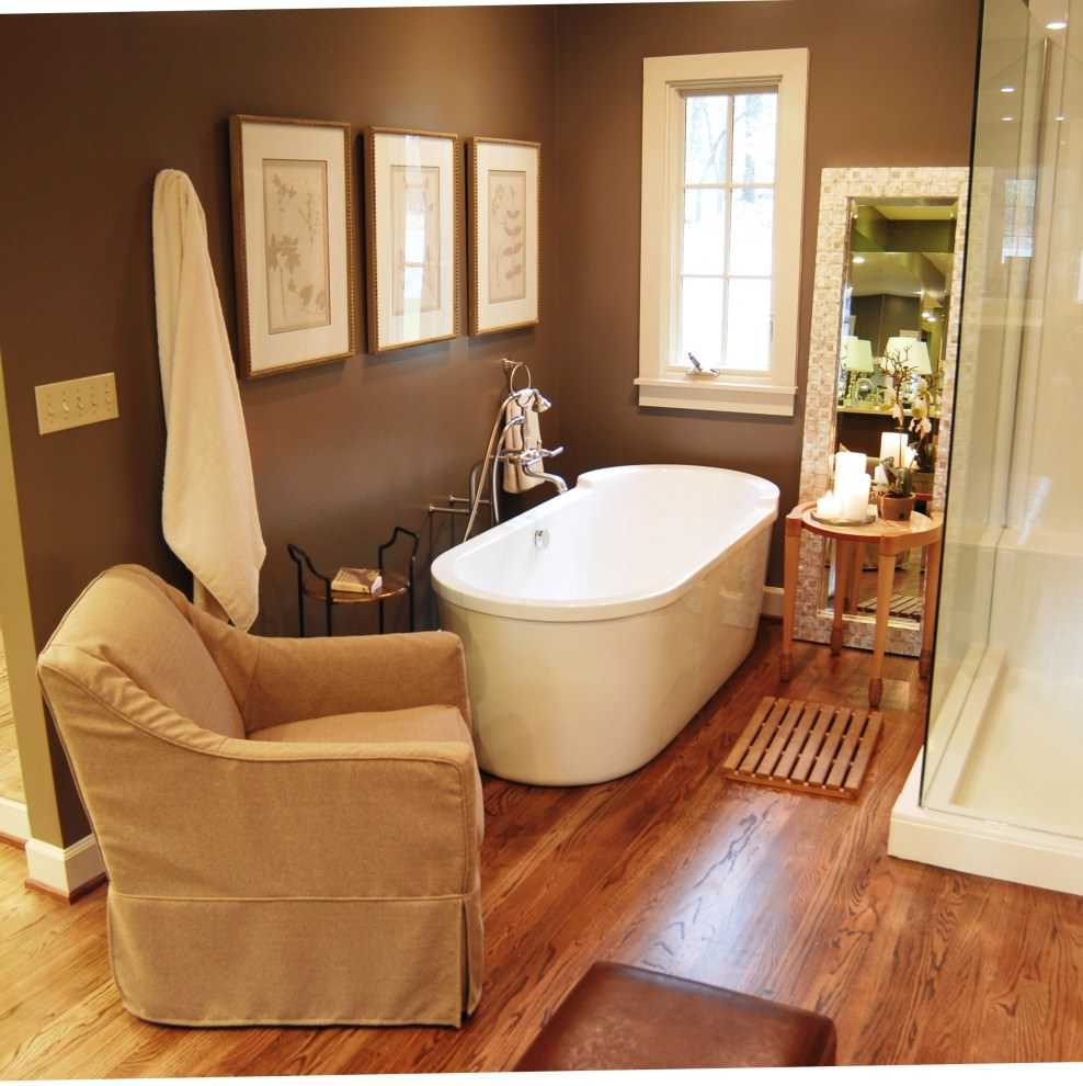 23+ Brown Bathroom Designs, Decorating Ideas | Design ...