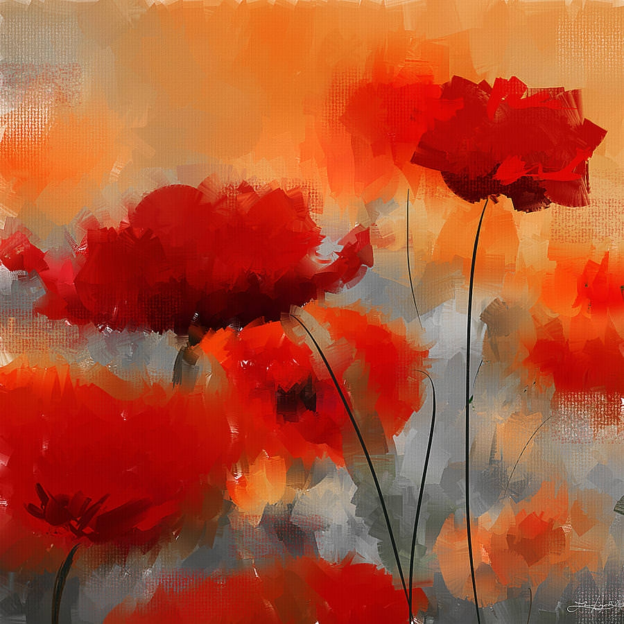 Beautiful Natural Flowers Painting