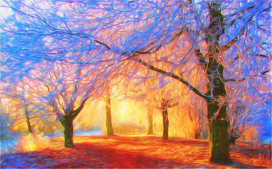 The Morning Light Amazing Painting