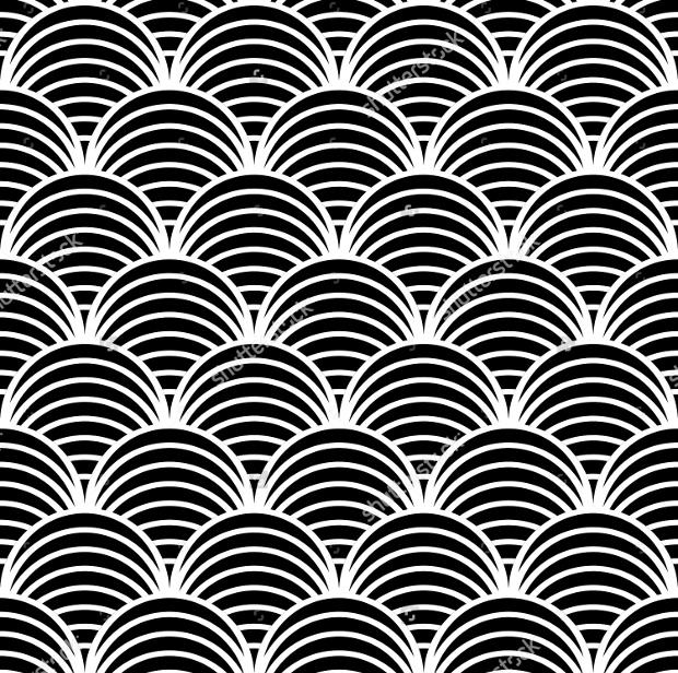fish scale design pattern