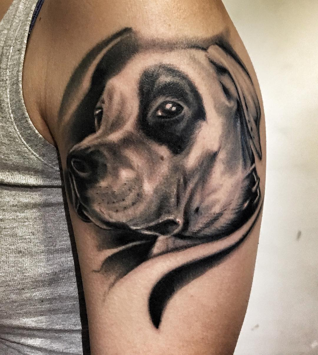 dog cool sleeve tattoo