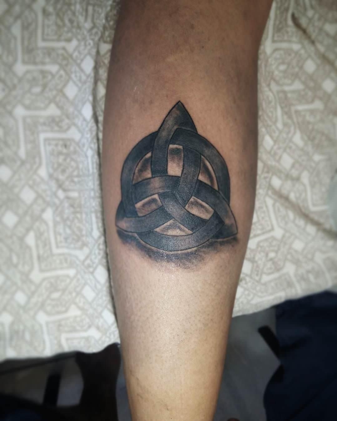nordic triquetra tattoo