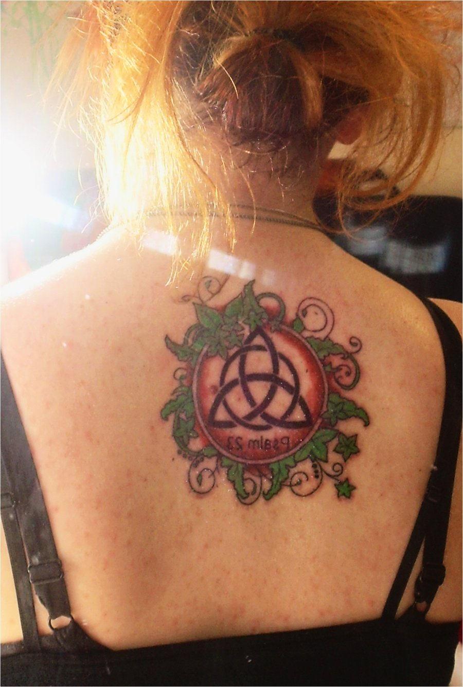 fantastic triquetra tattoo