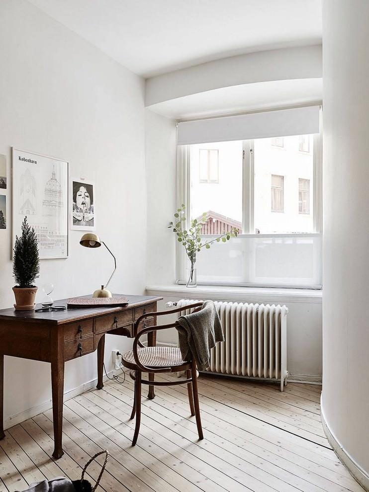 Typical Scandinavian Home Office Design