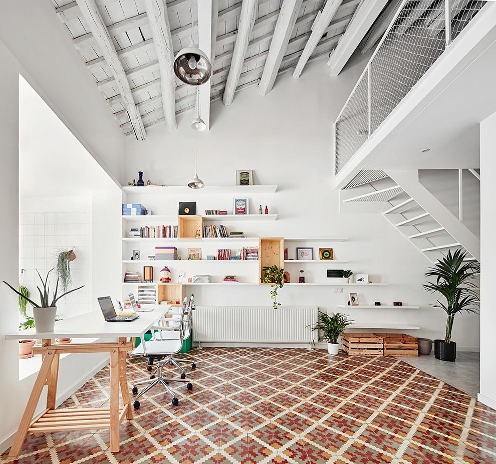 22+ Scandinavian Home Office Designs, Decorating Ideas