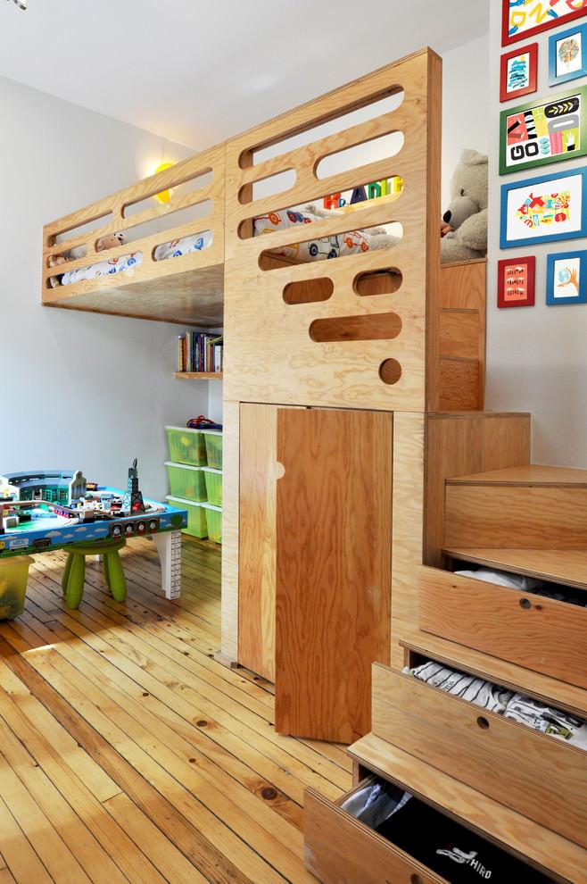 Beautiful Plywood furniture design in kids room