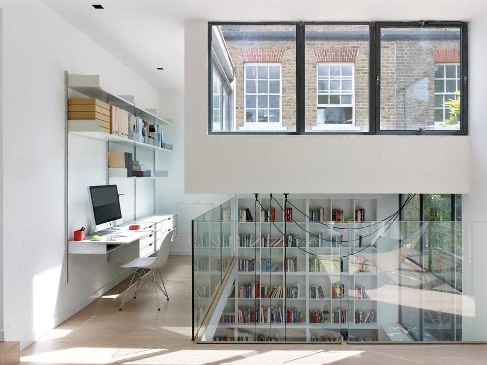 Modern Scandinavian Home Office Design