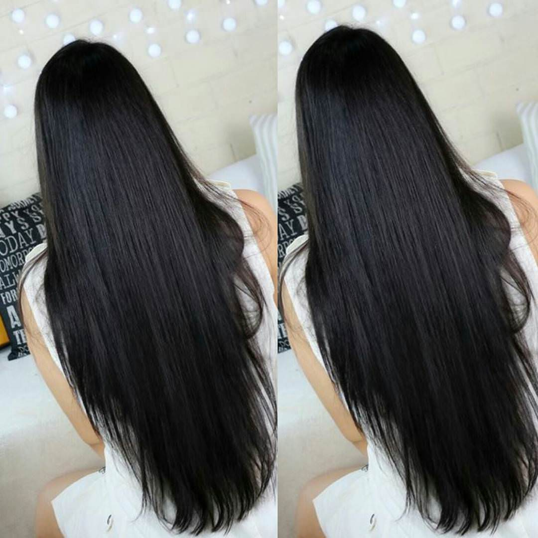 Straight Black Hair