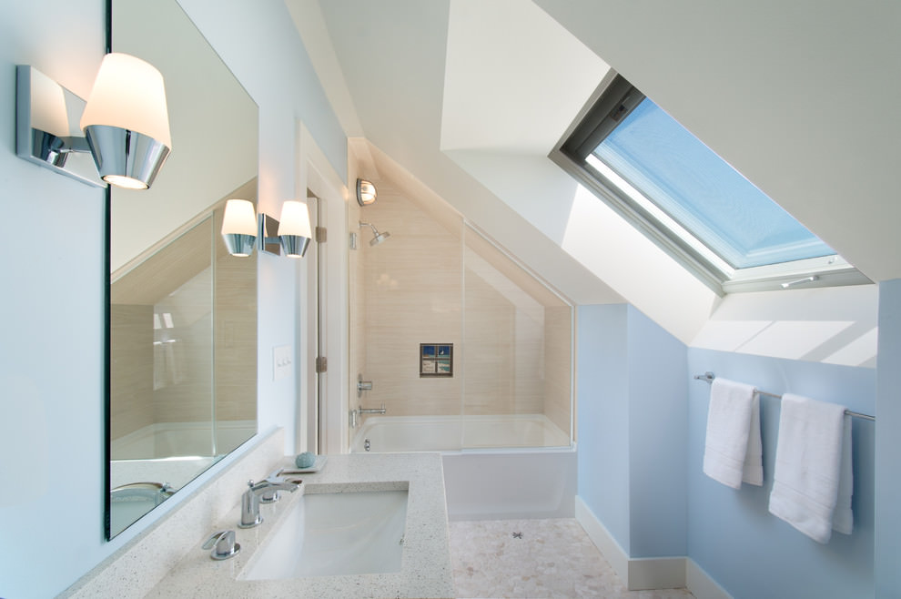 Classic Attic Bathroom Design