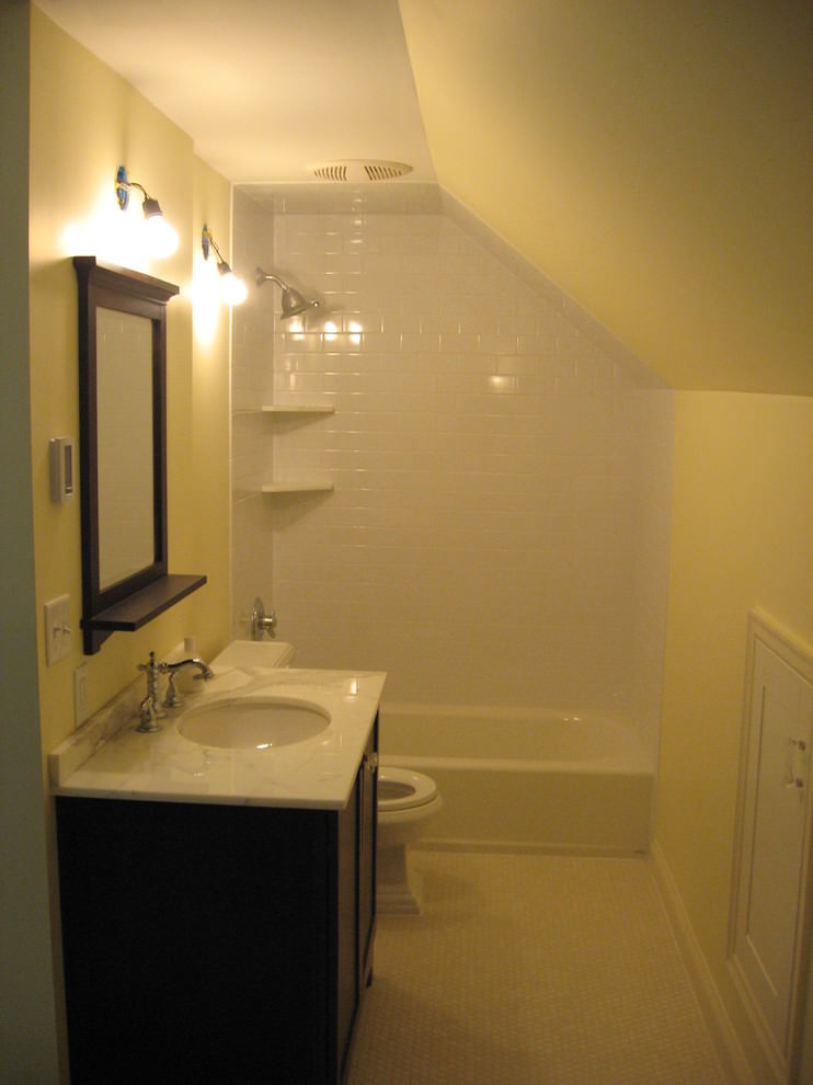 Custom Attic Bathroom Design