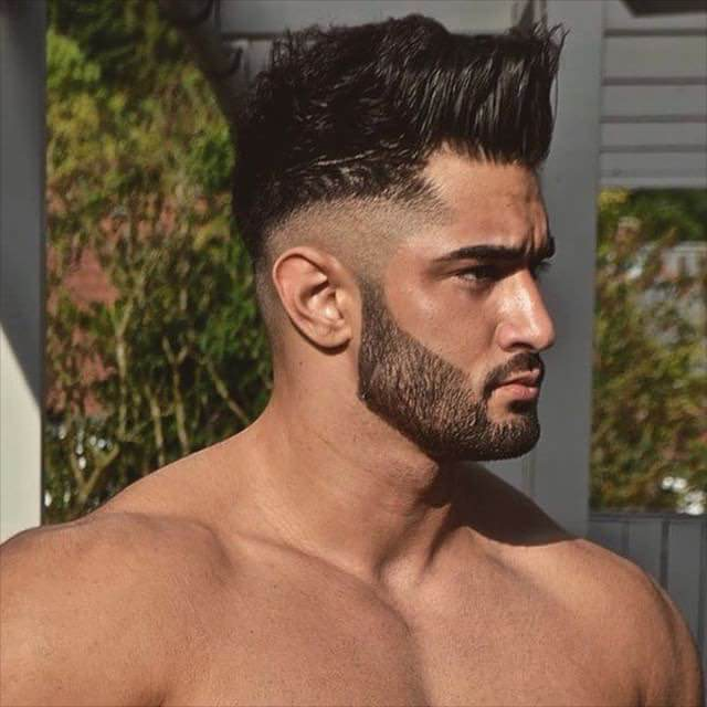 short back long front hairstyles : 25+Awesome Shaved Sides Hairstyles for Men Design Trends