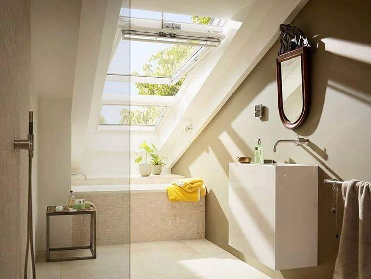 Brilliant Attic Bathroom Design