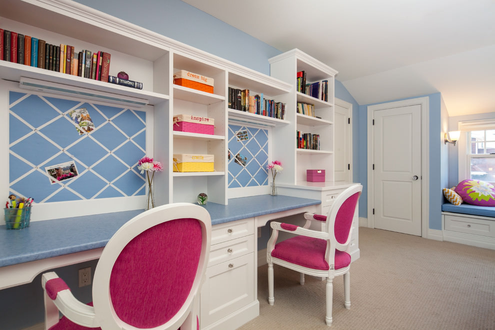 Beautiful work space design for kids