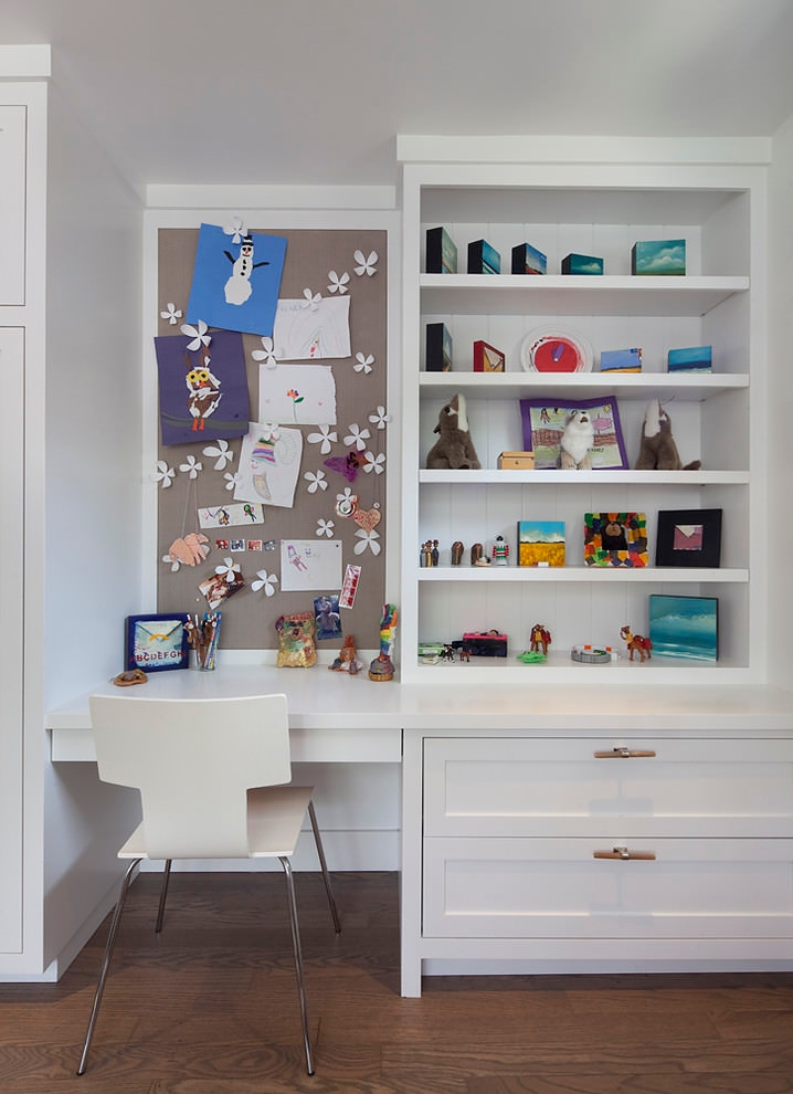 Teen work space design for kids