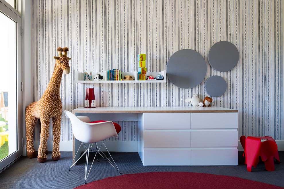 cool work space design for kids