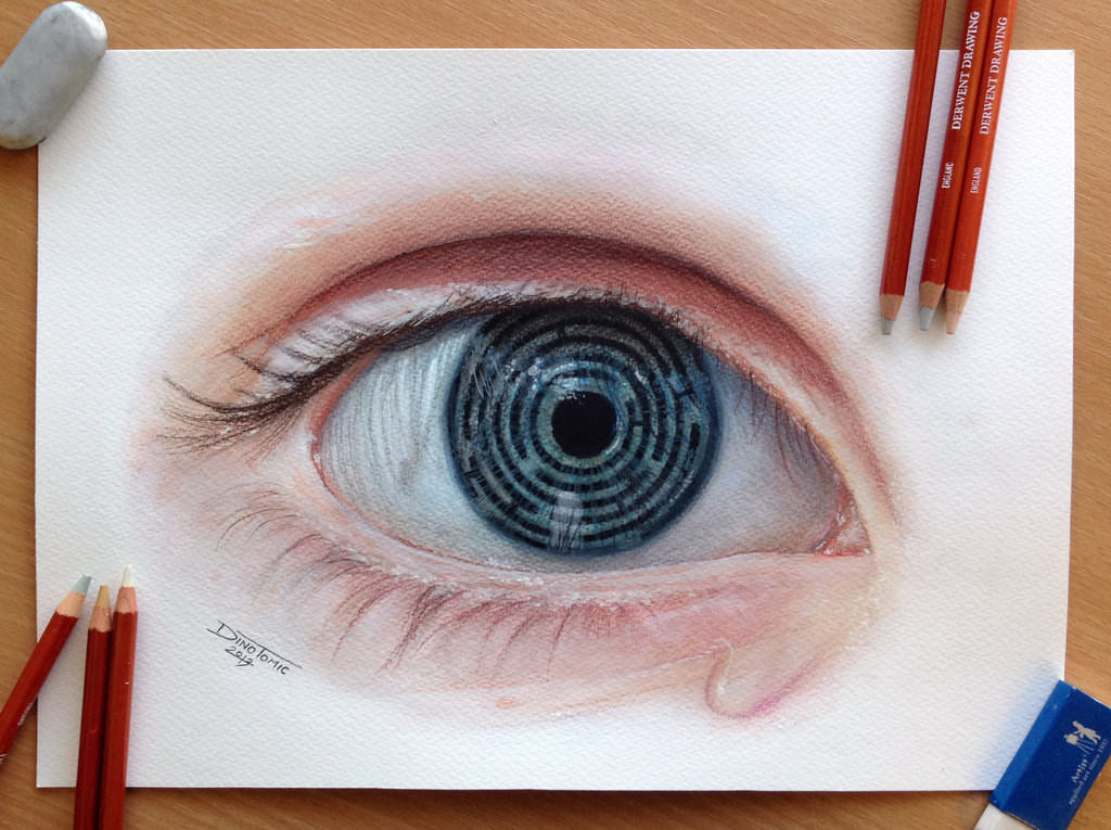 Coloured Eye