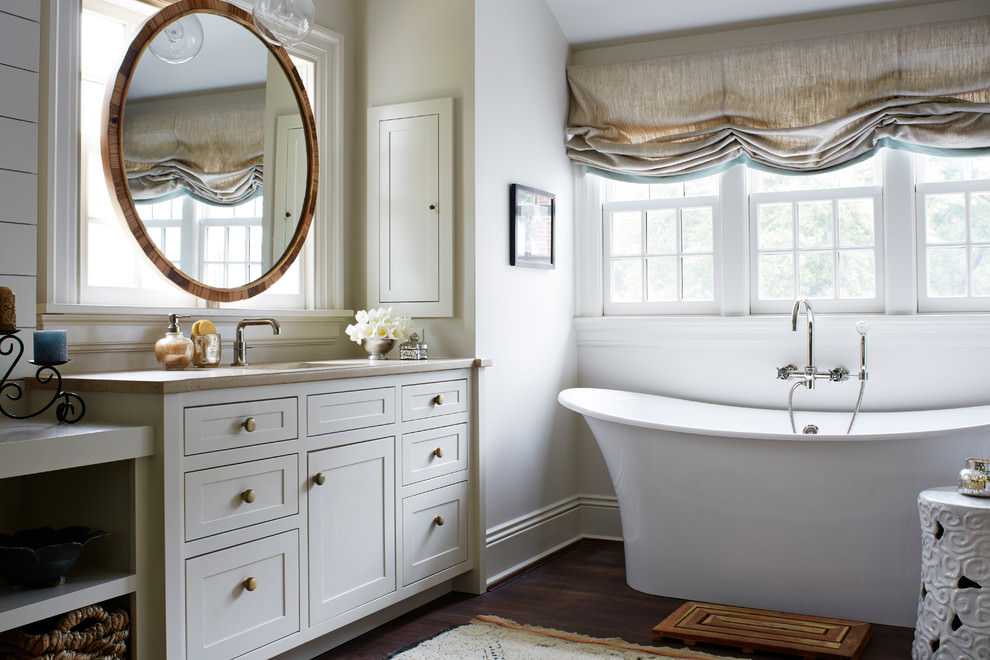 Double Sink Bathroom Decorating Ideas