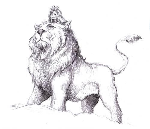 Rider Lion