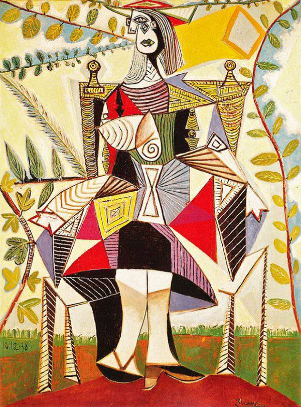 Seated Woman in a Garden