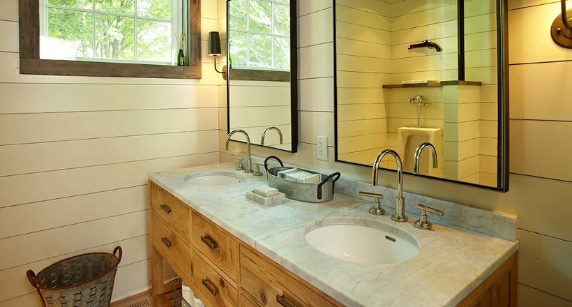 Farmhouse Style Bathroom Designs