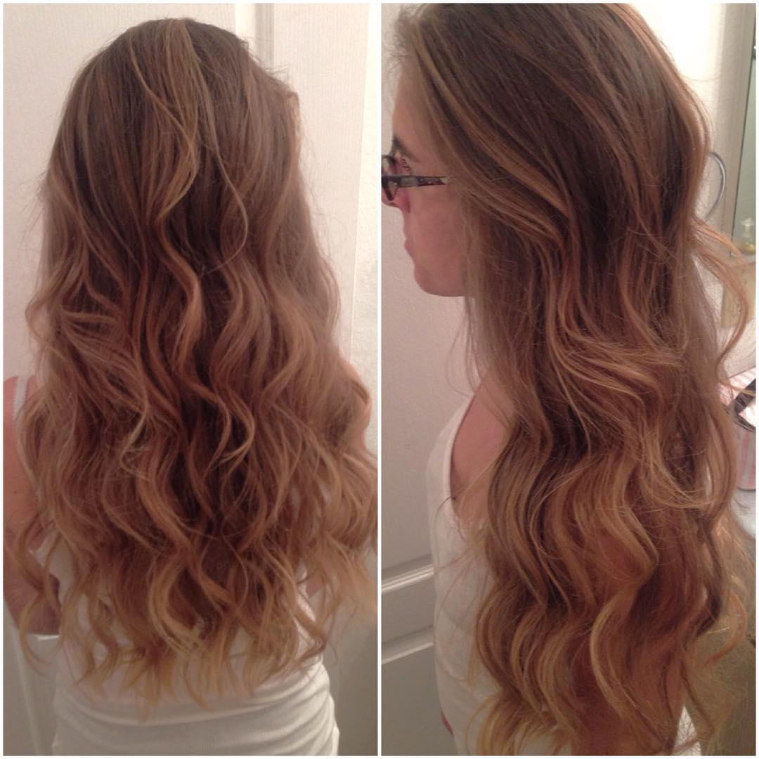 Beach Curls Layered Cut