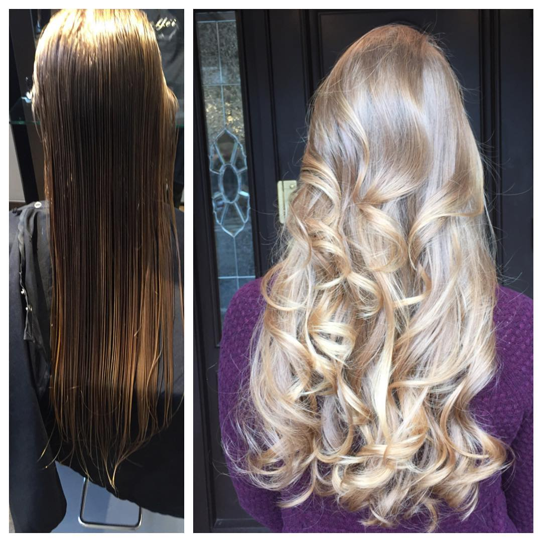Shiny Layers Long Hair