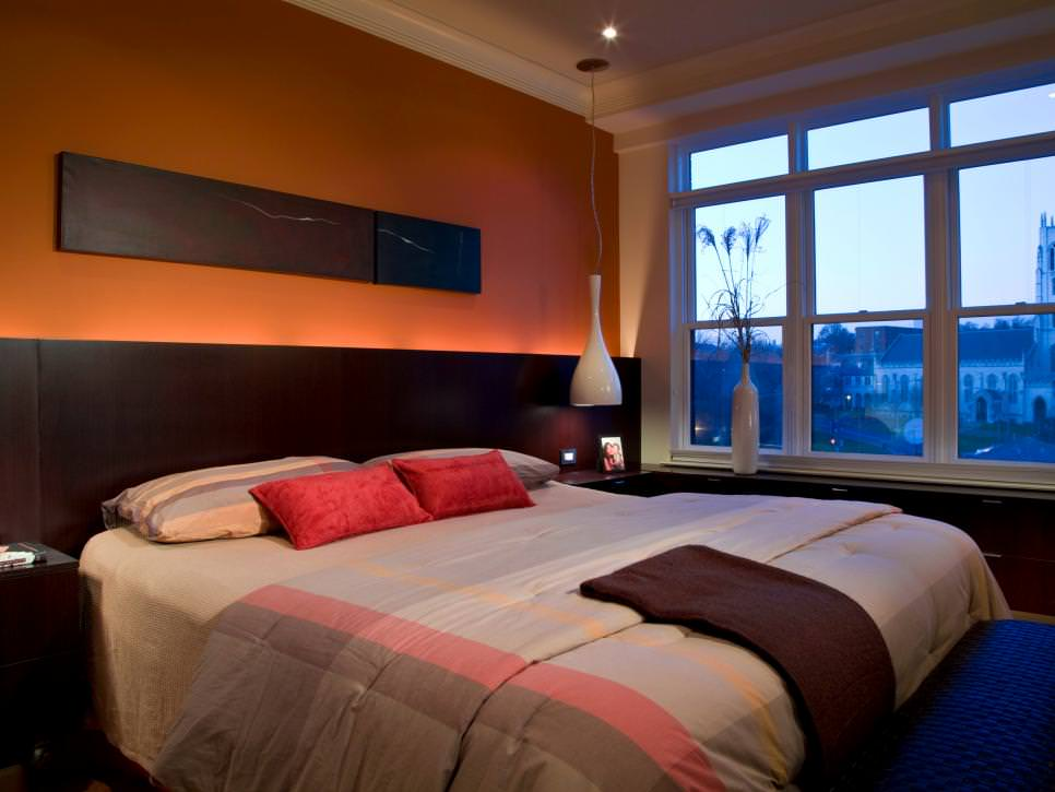 24+ Orange Bedroom Designs, Decorating Ideas | Design Trends ...