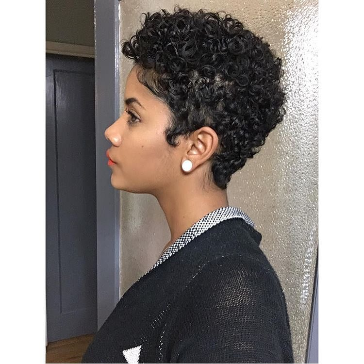 Nice Looking Curly Short Hairstyle