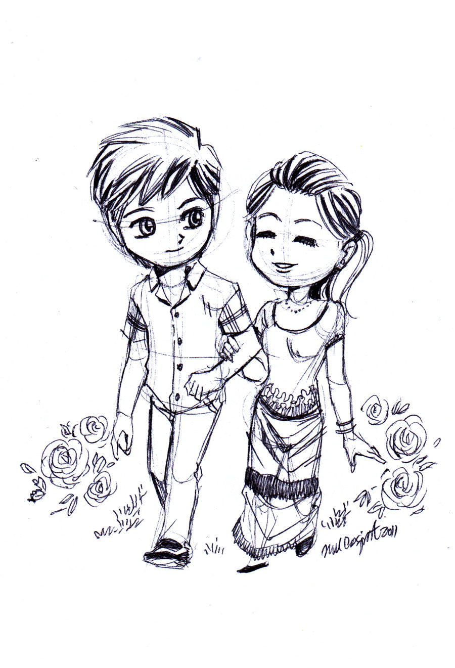 19 Cute Love Drawing Art Ideas Sketches Design Trends Premium