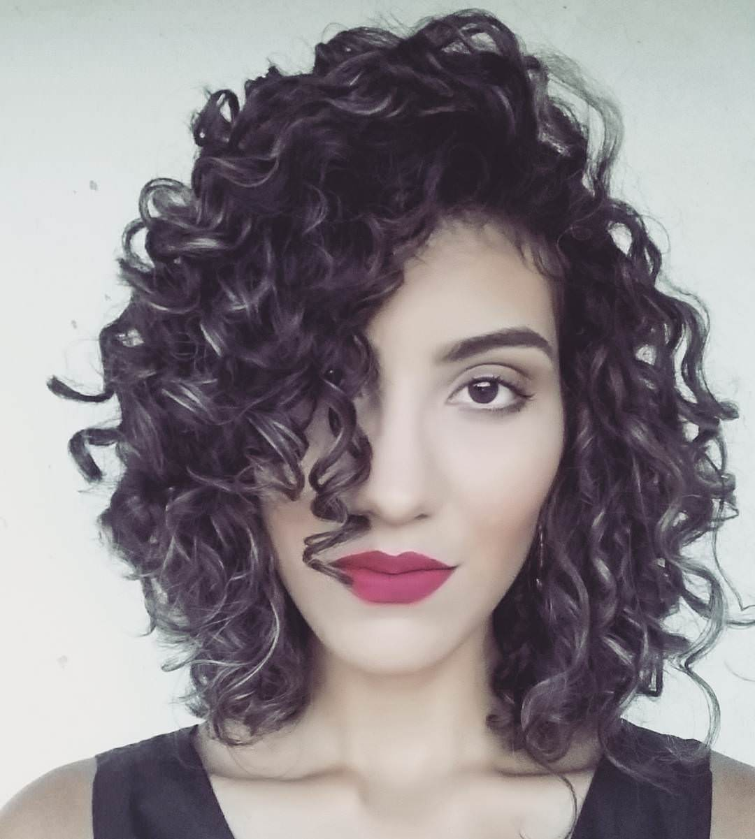 Awesome Curly Short Hairstyle