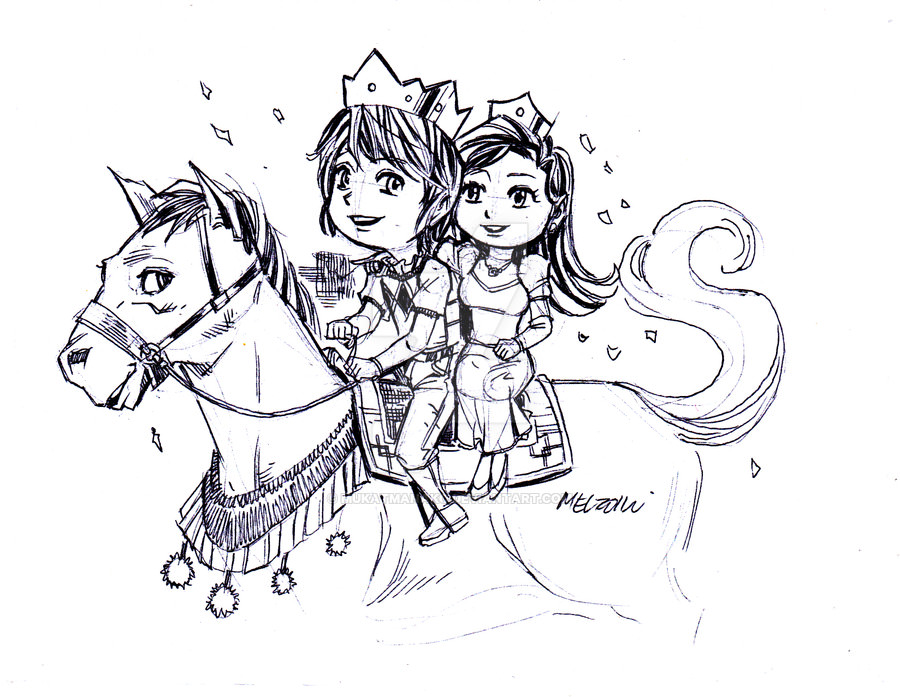 Fairy Tale Love Drawing