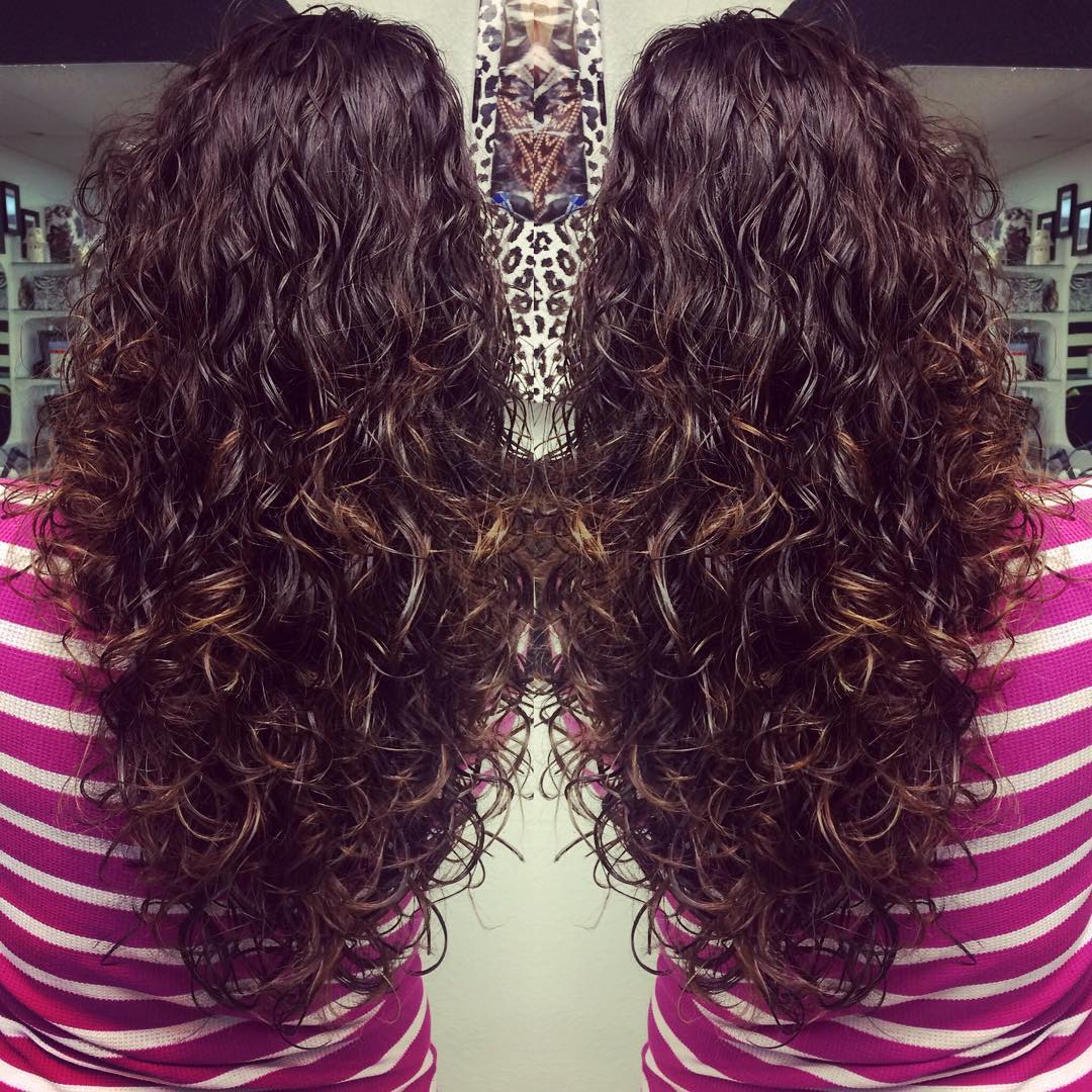 Long Layered Curls