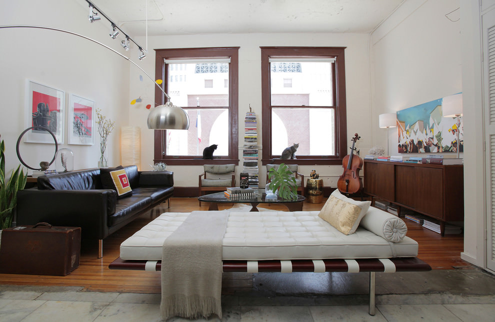 Eclectic Black Living Room Couches