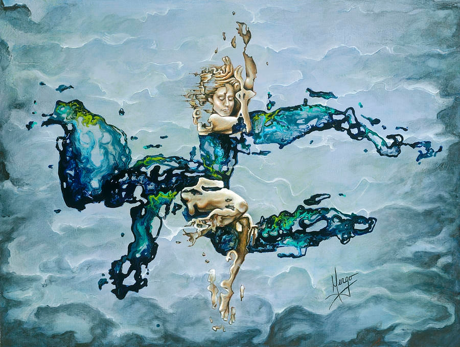 Dream Under The Water Painting