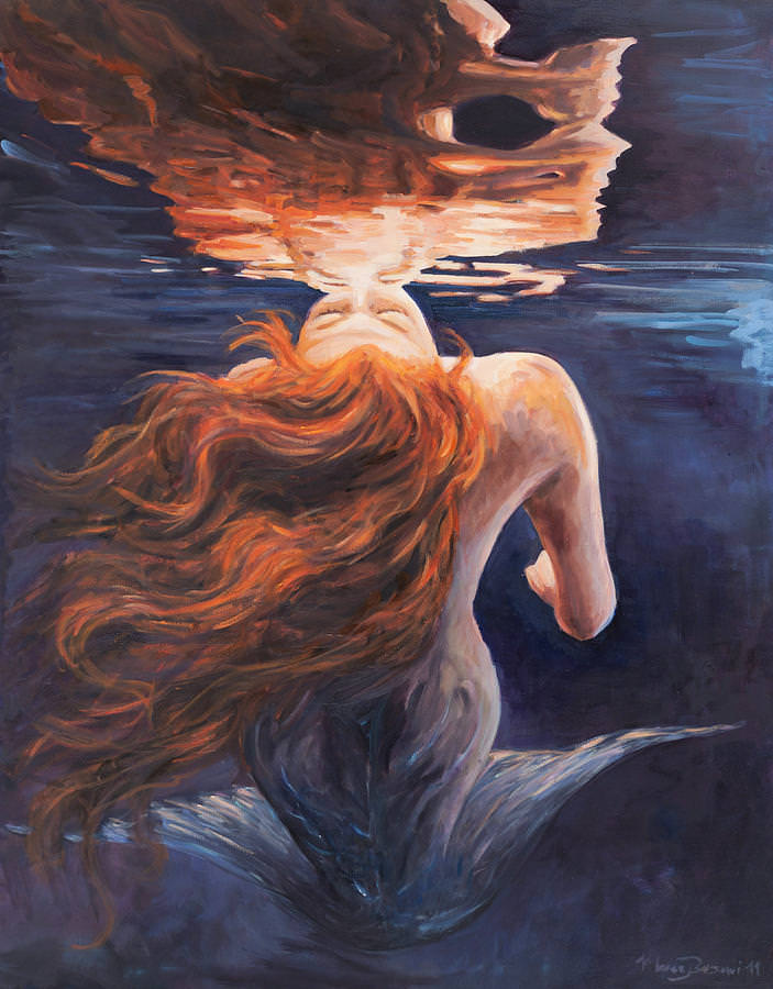 Light Love Underwater Painting