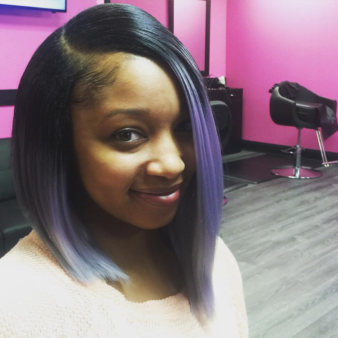 Two Tone Bod Weave Hairstyle 836379422f