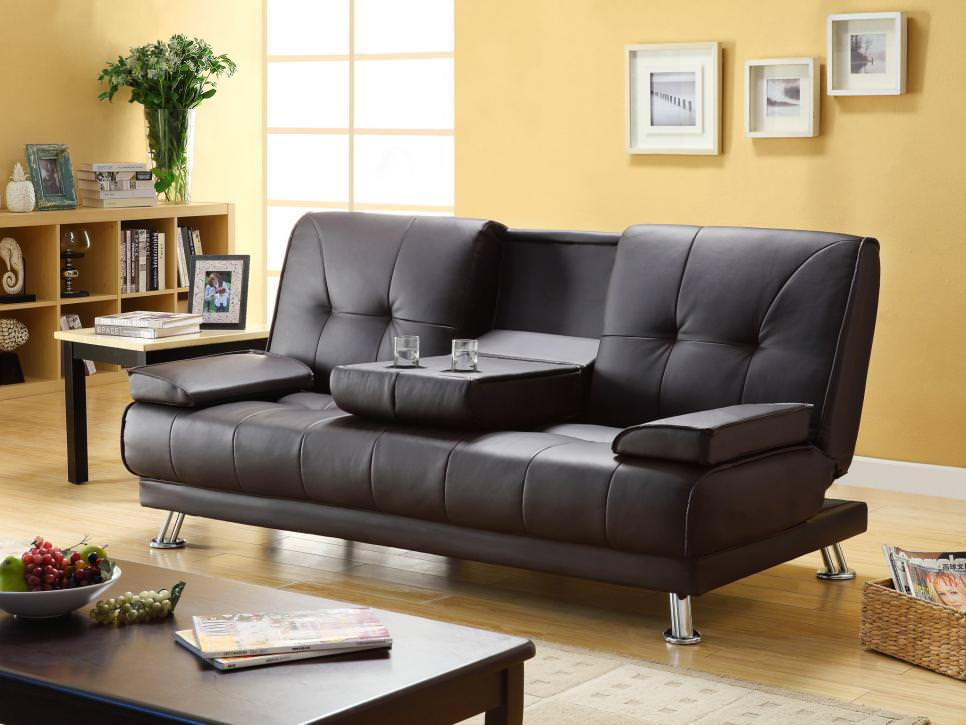 Black Leather Living Room Couches
