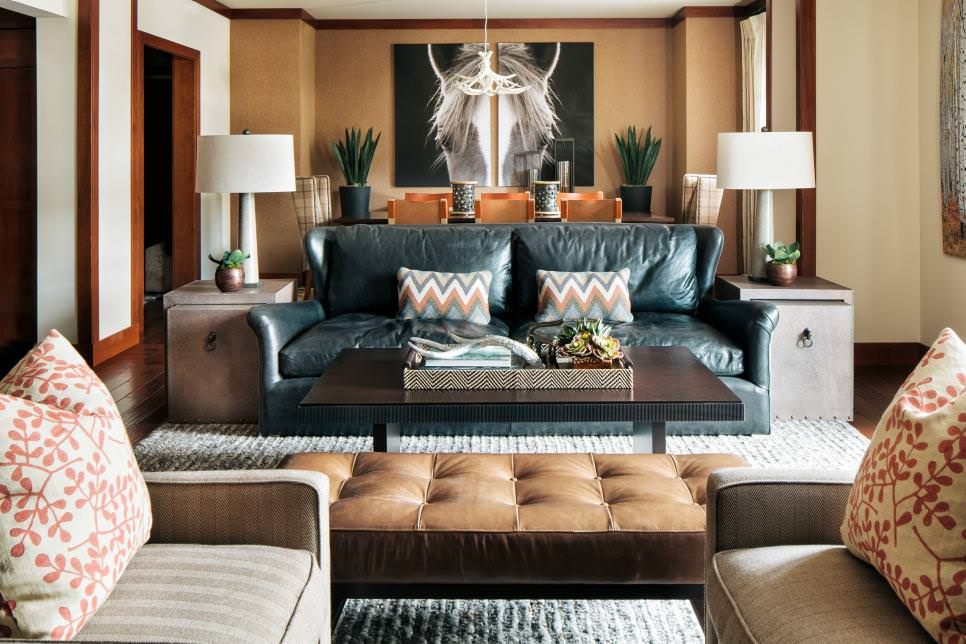 Comfy Black Living Room Couches