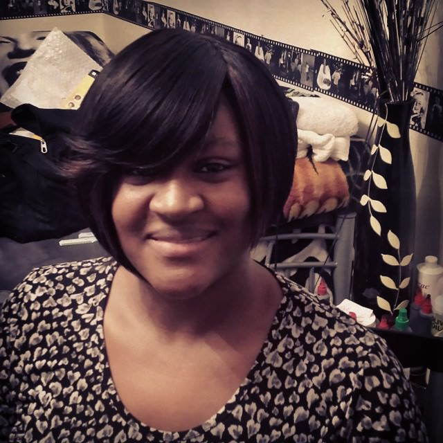 Smooth Bob Weave Hairstyle
