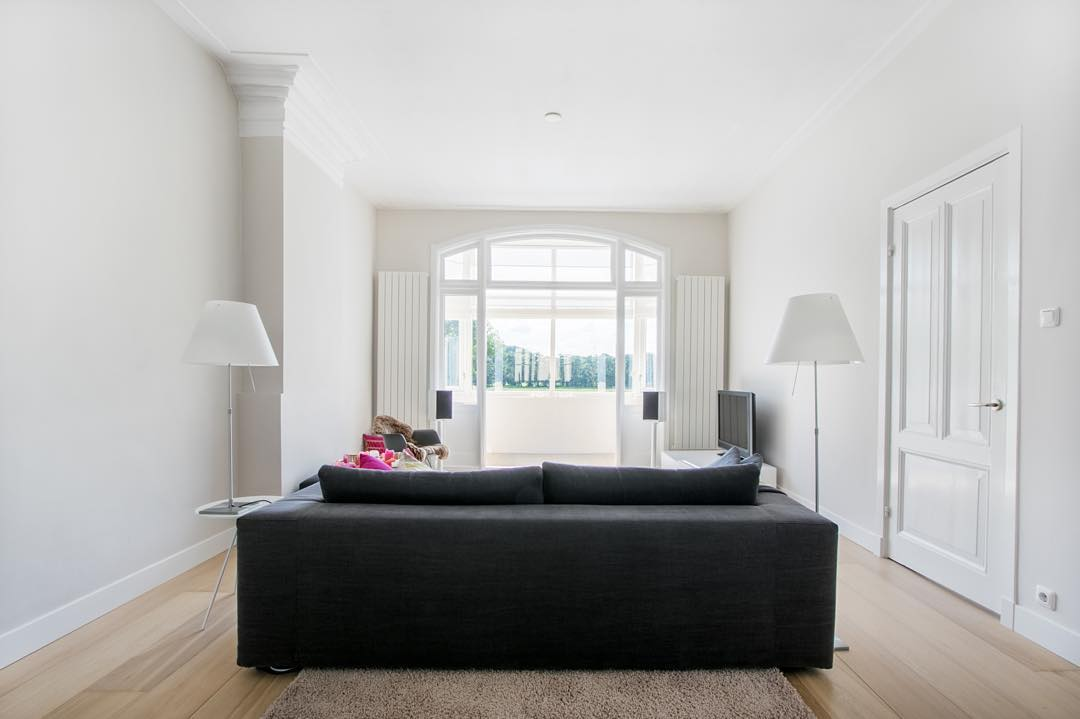 Spacious Black Living Room Couches