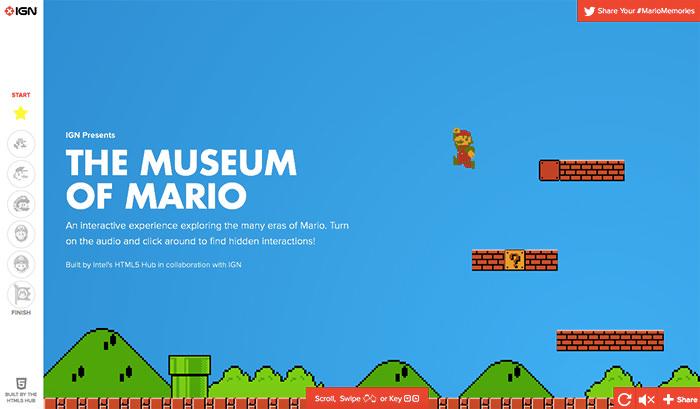2 super mario museum