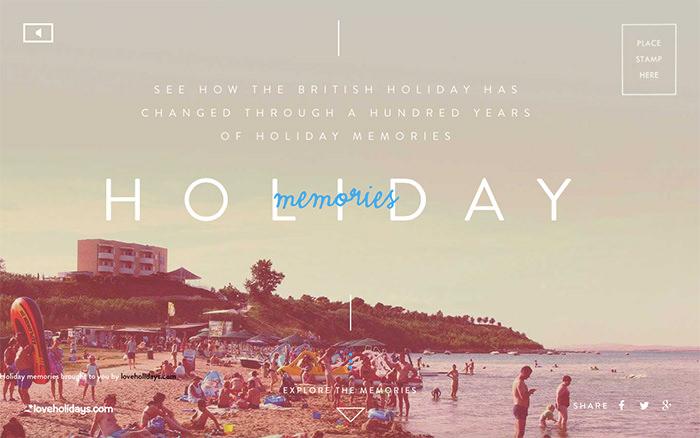 12 holiday memories