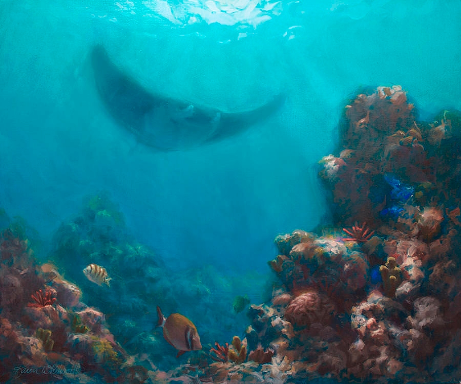 Hawaiian Underwater Painting